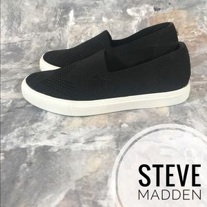 STEVE MADDEN frankel sneakers black like new